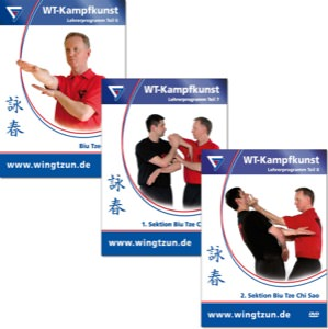 Bundle - Sifu Niko - Wing Tsun 9-11 - Advanced Levels 2