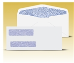 "Check Envelopes 8-5/8"" Double Window Envelope - Self Seal Gum, # 12005-SS"