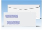 #9 Double Window Envelopes - Regular Gum Seal, # 13055 (QuickBooks Compatible)