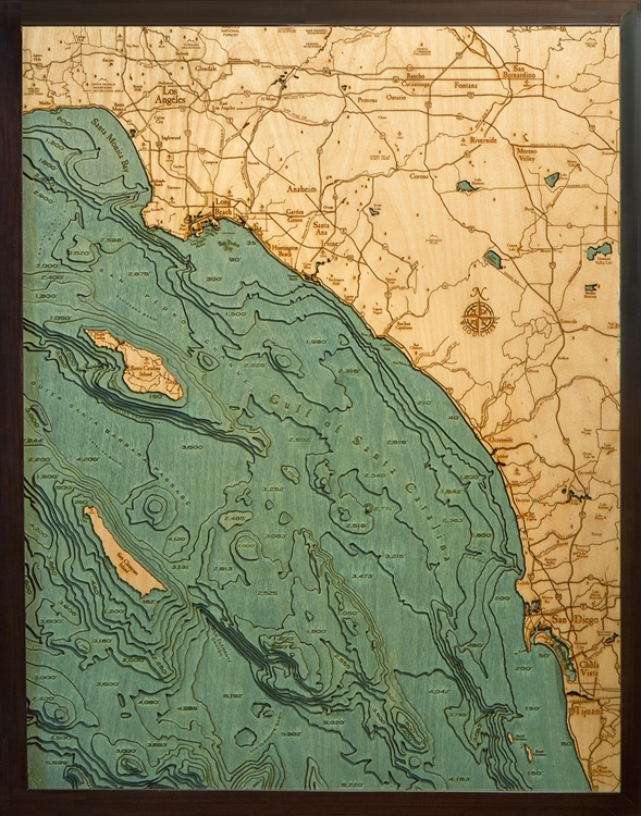 Get topographical wood art