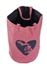 Pink Navy Heart Great Lakes Tote Bag