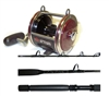 Penn 113H2 Senator Reel / Billfisher SSU3080C Stand-up Rod Combo by Penn
