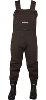 Compass360 Rogue Felt Sole Bootfoot Wader - Dark Brown - 12wn - 11