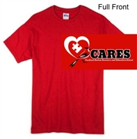 Red Short Sleeve T-Shirt (Adult and Youth)