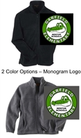 Full Zipper Fleece Jacket (Adult, Ladies and Youth)