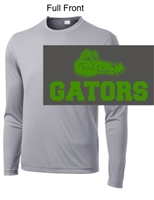 Silver Performance Tee - Long Sleeve (Youth and Adult)