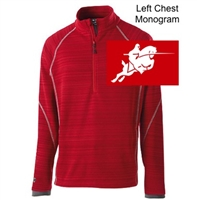 Red 1/4 Zipper Pullover (Adult and Youth)