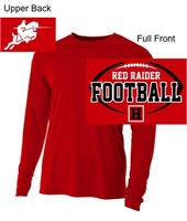Red Performance Tee - Long Sleeve (Adult and Ladies)