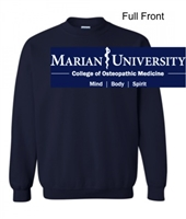 Navy Heather Crew Sweatshirt (Adult and Youth)