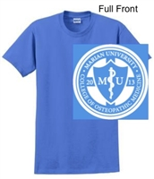 Columbia Blue Short Sleeve T-Shirt (Adult and Youth)