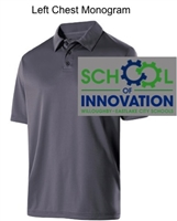 Graphite Dry-Excel Polo (Adult and Ladies)