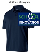 Navy Dry-Excel Polo (Adult and Ladies)