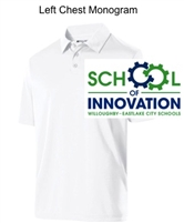 White Dry-Excel Polo (Adult and Ladies)