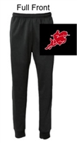 Black Performance Jogger Sweatpants with Pocket (Adult)