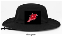Black Manta Ray Boonie Hat (One Size)