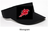 Black Performance Visor (One Size)