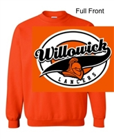 Orange Crew Sweatshirt (Adult and Youth)