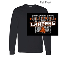 Black Long Sleeve T-Shirt (Adult and Youth)
