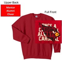 Red Crew Sweatshirt (Youth and Adult)