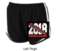 Black and White Ladies Shorts (Ladies)