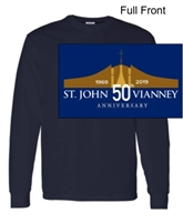 Navy Long Sleeve T-Shirt (Adult and Youth)