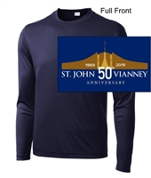 NavyPerformance Tee - Long Sleeve (Youth and Adult)