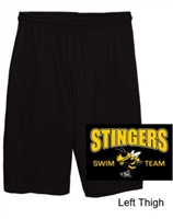 Black Performance Shorts (Adult and Youth)