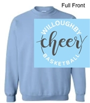 Light Blue Crew Sweatshirt (Adult)