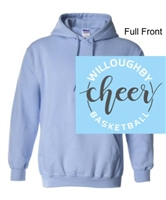 Light Blue Hooded Sweatshirt (Adult)