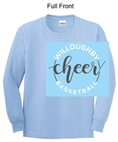 Light Blue Long Sleeve T-Shirt (Adult and Youth)