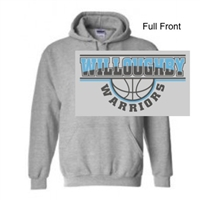 Sport Grey Hooded Sweatshirt (Adult and Youth)