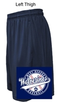 Navy Performance Shorts with Pockets  (Adult and Youth)