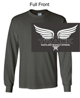 Charcoal Long Sleeve T-Shirt (Youth and Adult)