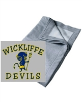 Sport Grey Fleece Stadium Blanket (One Size)