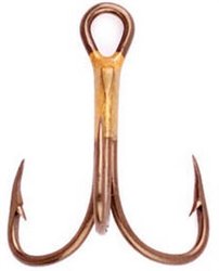 Eagle Claw  Lazer Sharp 2X Bronze Treble Hook