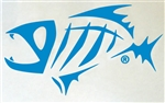 "GLoomis 7"" Skeleton Fish Decal"