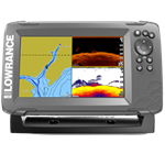 Lowrance Hook2 7 Split shot & US Inland Maps