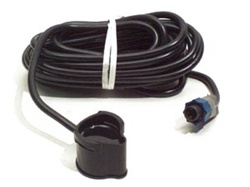 "Lowrance PD-WBL ""POD"" Thru-Hull Transducer - Blue Connector"