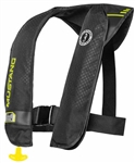 Mustang M.I.T. 100 Inflatable PFD (Auto)  Black/Yellow