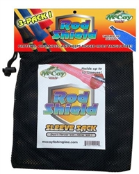 McCoy Rod Shield 3-Pack with Sleeve Sack