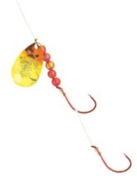 Northland Fishing Tackle Rainbow-Image Crawler Spinner Harnesses