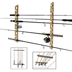 Rush Creek Creations 3 in 1 Rod Rack