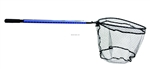 "Ranger Landing Net 22""x20"" Flat Bottom, 36""-57"" Tele Handle Ruler"