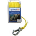 "Sea Dog  Poly Pro Anchor LIne w/Snap  3/8"" X 75'"