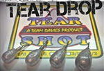 Team Davies Teardrop Dropshot Weights