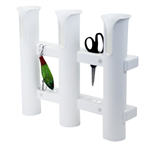 Fish-On Triple White  Rod Holder