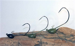 Tourney Jigs Grass Slipper Jig head