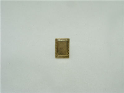 14k yellow gold Tie tack