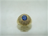 BEAUTIFUL diamond and sapphire ring