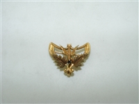 1930's 14k yellow gold bird pin
